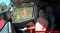 Facialized teen dominated by maledom