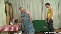 law in son her seduces granny Horny