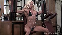 Naked Female Bodybuilder Ashlee Chambers Fucks ...