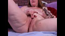 ... and strips stockings sexy in spunker old Kinky