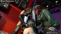 Three Femdom Mistress gang bang