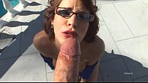 Brutal deepthroat and anal sex for a pretty bru...