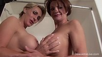deauxma and tanya tate shower during live show