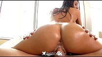 exotic4k skillful brunette janice griffith fucks and slobbers on big cock