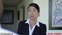 EvilAngel Asian in BBC Threesome porn videos