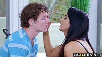 Hot mommy Isis Love swallows Robby Echos big cock