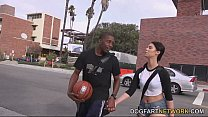 Brooklyn Rose Fucks A Black Guy In Front Of Her...