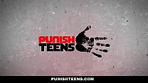 PunishTeens - Pissed off Girlfriend Fucks Busty...
