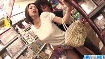 Public porn session along hot ass Ran Minami