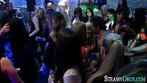 Party teens get oral sex