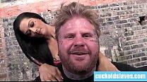 Katrina Jade and hubby interracial cuckold