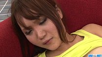 tai phim sex -xem phim sex Miyu enjoys fingering her twat before a wild fuck
