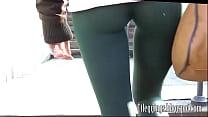 8 leggings y cameltoe Sexy