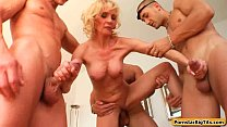 MIlf Thing with Busty Sexy Housewife Getting Fu...
