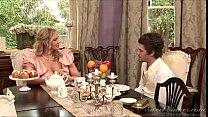 Julia Ann & Xander- Big Tits and Ass Curly Blonde Milf