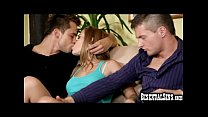 Teen Couple Tries Bisexual Threesome!