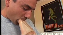 Worship my feet and you'll get a footjob reward