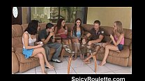 a group of amateurs playing strip poker and fucking