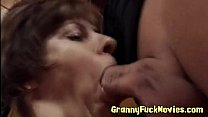 granny horny hungry Cock