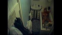 spy / espía bañera/ en Masturbación