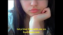 Very cute girl ready for live cam sex