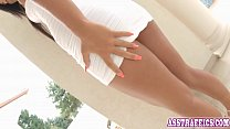 Anal sex for stunning babe Maria Fiori on the p...