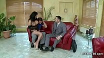 Husband Switch His Hot MILF Wife in Lingerie wi...