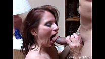 Super cute mature brunette loves a hard fucking