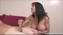 handjob topless milf Brunette