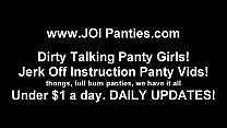 I have been waiting to model my panties for you...