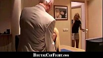 cheated wife revenges with hard spanking and fuck
