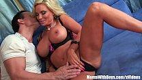Slutty Blonde Housewife Diamond Foxxx Pierced P...