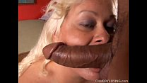 ... and cock suck to loves beauty bbw blonde Busty