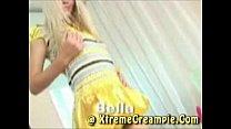 18yo Bella Takes 2 Creampies