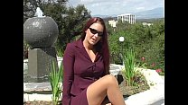 1 part - pantyhose tan and suit purple a in teases red Victoria