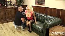 couch the on screwed getting while pleasure in moans layne Tia