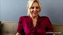 Busty Blonde Teacher Julia Ann Fucks Herself!