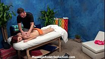 Cute red head teen pussy and ass massage hard f...