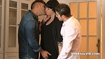 taissia shanti gets sticky with an anal creampie