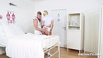 Slutty Nurse Karol Lilien Treats a Patient to H...