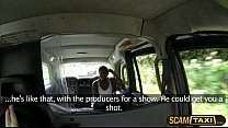 Ebony Jasmine gets her pounded by the driver in...
