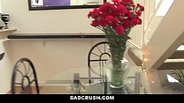 DadCrush - Sexy Daughter Brings Dad Breakfast In Bed thumbnail
