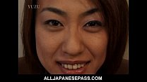 up oiled being body her enjoys kurosaki aya Busty