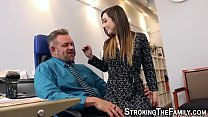 horny girl fucks stepdad