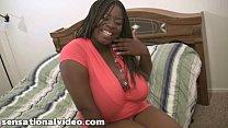 Huge Tit Black BBW Slut Gets Fucked By Huge Whi...