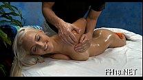 Русская молодая пришла на массаж и секс с видео