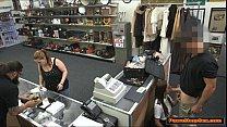 Latina Flight Attendant gives Pawnshop owner a ...