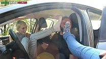 car the inside domination foot - valeria of time first The