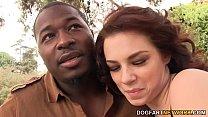 Aubrey James enjoys every inch of her boyfriends BBC thumbnail