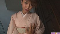 Teen Marika gives an asian pov blowjob and swal...